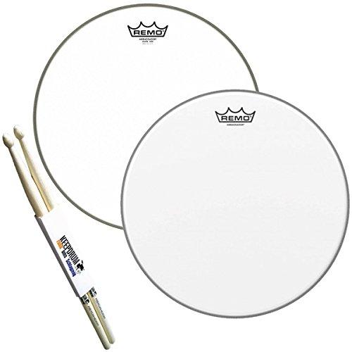"""Remo Ambassador Snare-Fell Set 14"""" + keepdrum Drumsticks"""