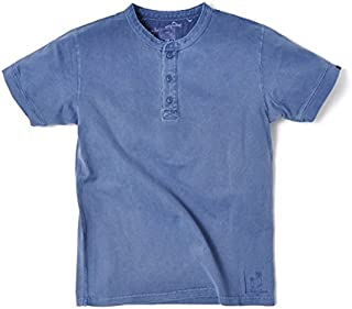 ヘンリーネック 半袖 厚手 メンズ ホワイト レッド グリーン ネイビー S-XL 無地 ポケT スラブ 30代 40代 人気 アメカジ こだわり スマートスパイス 0117