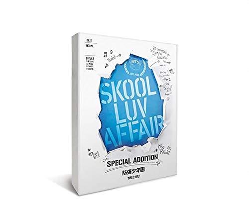 BTS Album - SKOOL LUVE AFFAIR [ SPECIAL EDITION ] CD + 2DVD + Photobook + Photocard + OFFICIAL POSTER + FREE GIFT / K-POP Sealed