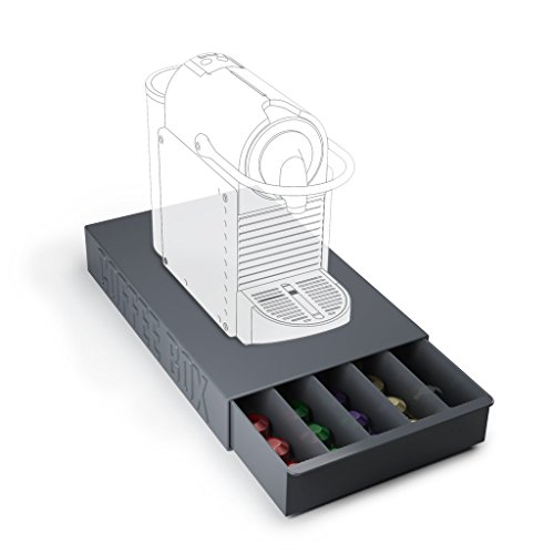 Balvi - Coffee Box Caja para Guardar cápsulas de café y apoyar tu cafetera