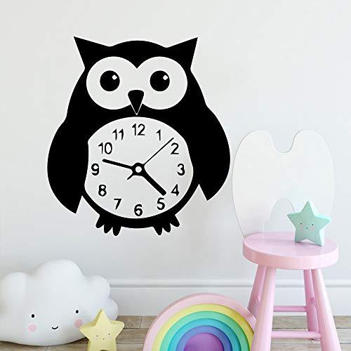 Nuevo reloj de pingüino decoración del hogar habitación de los niños decoración moderna de acrílico sala de estar sala de estar decoración de la pared del hogar pegatinas creativas A2 XL 58cm X 63cm