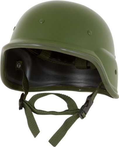 Modern Warrior Tactical M88 ABS Tactical Helmet - with Adjustable Chin Strap - Resembles PASGT Kevlar Helmet