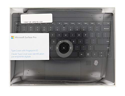 Microsoft Surface Pro Type Cover with Fingerprint ID (Black, RH9-00001)