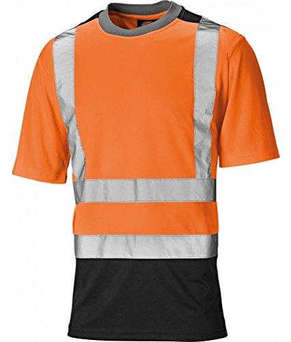 Dickies Dickies Two Toned HV T-Shirt, 3XL, orange, SA22081