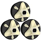 285753A (3-Pack) Motor Coupling by PartsBroz - Compatible with Whirlpool & Kenmore Direct Drive Washing Machines - Replaces AP3963893, 1195967, 280152, 285743, 3364002, 3364003, ER285753, PS1485646