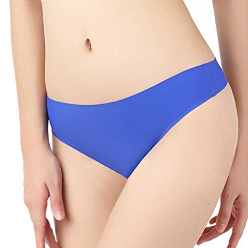 URIBAKY Damen Nahtlos Slips Unterwäsche Große Größe,Oversize Unterhose Bikinis Taillenslips Seamless Unsichtbare