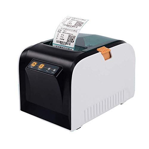 Atten Imprimante Accueil, Bluetooth Imprimante Thermique portatif de Codes à Barres Imprimante d'impression Haute Vitesse Automatique de la température de contrôle 20 * 80MM
