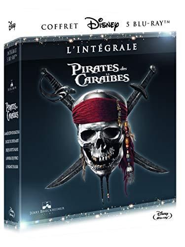 Pirates des Caraïbes-Intégrale-5 Films [Blu-Ray]