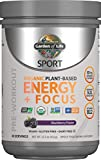 Garden of Life Sport Organic Plant-Based Energy + Focus Pre Workout Powder,...