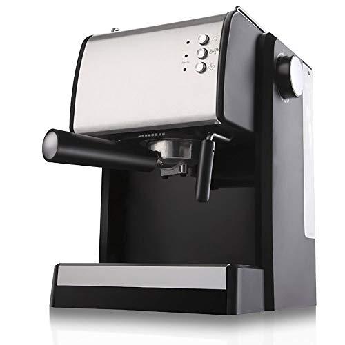 RLIRLI espressomachine, traditionele pomp, volautomaat met dubbele uitgang, 900 W, melkschuim met stoom, hoge druk, koffiezetapparaat, filterpomp draaibaar, 15 bar