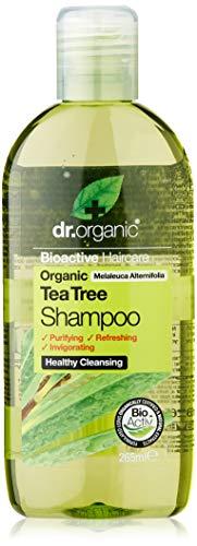 Dr. Organic Champú Árbol del Te Orgánico 265Ml 1 Unidad 500 g (5060176671089)