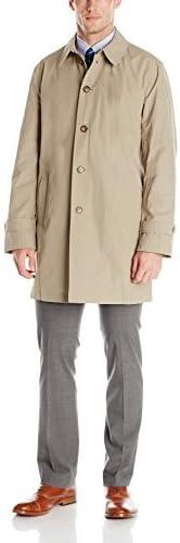 Tommy Hilfiger Men's Finn Button Through Overcoat