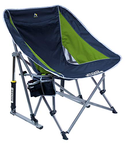 GCI Outdoor Pod Rocker Chair (Navy/Lime)
