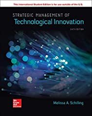 Strategic Management of Technological Innovation 6th Edition byMELISSA A SCHILLING