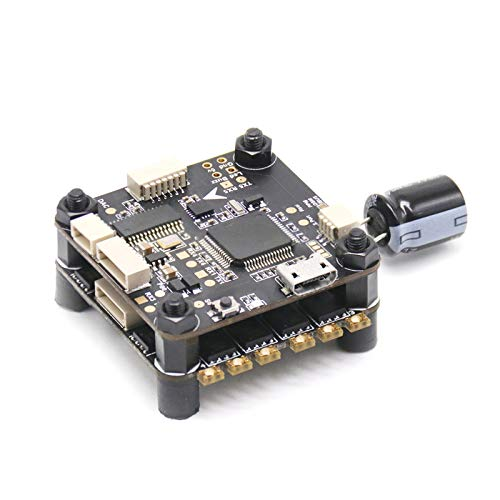 TCMMRC 2-5s Mini Flight Tower System F4 Flight Controller + 4 in 1 40A ESC BLHeli_S for FPV Racing Drone Quadcopter
