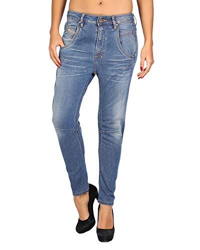 Diesel - Damen Jeans FAYZA 885I - Relaxed Boyfriend - blau, W23 / L32