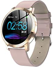 Smart Watch,1.22 Inch Tempered Glass Screen Bluetooth Watch with Heart Rate Sleeping..