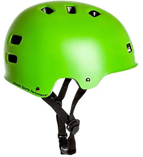 Sport DirectTM BMX-Skate Helm grün 55-58cm CE EN1078:2012+A1:2012 - 5