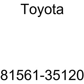 Genuine Toyota Lens /& Housing 81561-35120