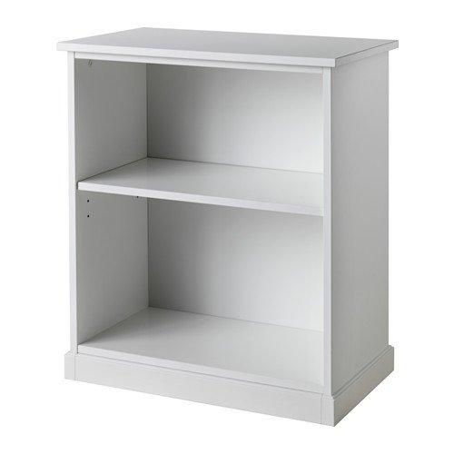 IKEA KLIMPEN–Mesa de la pierna con el almacenamiento, blanco–58x 70cm