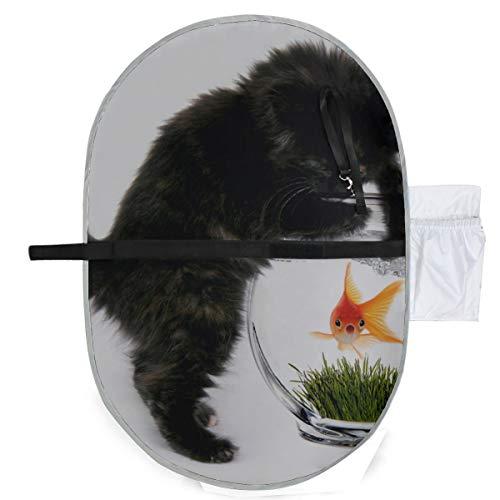 Naughty Pet Cute Cat Kids Cambiador de pañales Cambiador de pañales Cambiador de mesa 27x10 pulgadas Impermeable Estera plegable Bebé Cambiador portátil Cambiador de pañales
