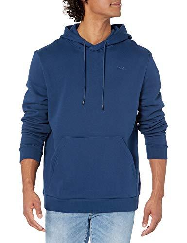 Oakley Sudadera con capucha para hombre Relax - azul - Small