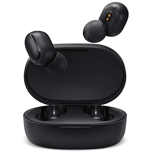 Timoom Xiaomi Mi True Wireless Earbuds Basic Bluetooth 5.0 Auriculares Inalámbricos, Wireless Earbuds, Auriculares Estéreos Manos Libres con Micrófono, Impermeable IPX4, Estuche de Carga Magnética