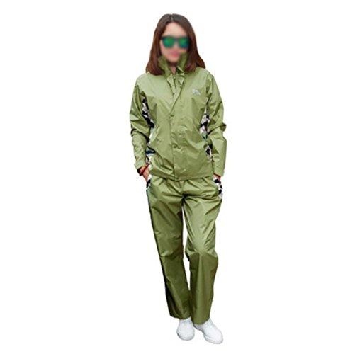 RUIX Regenmantel Regenhose Anzug Fashion Riding Adult Outdoor Wandern Regenjacke,XL