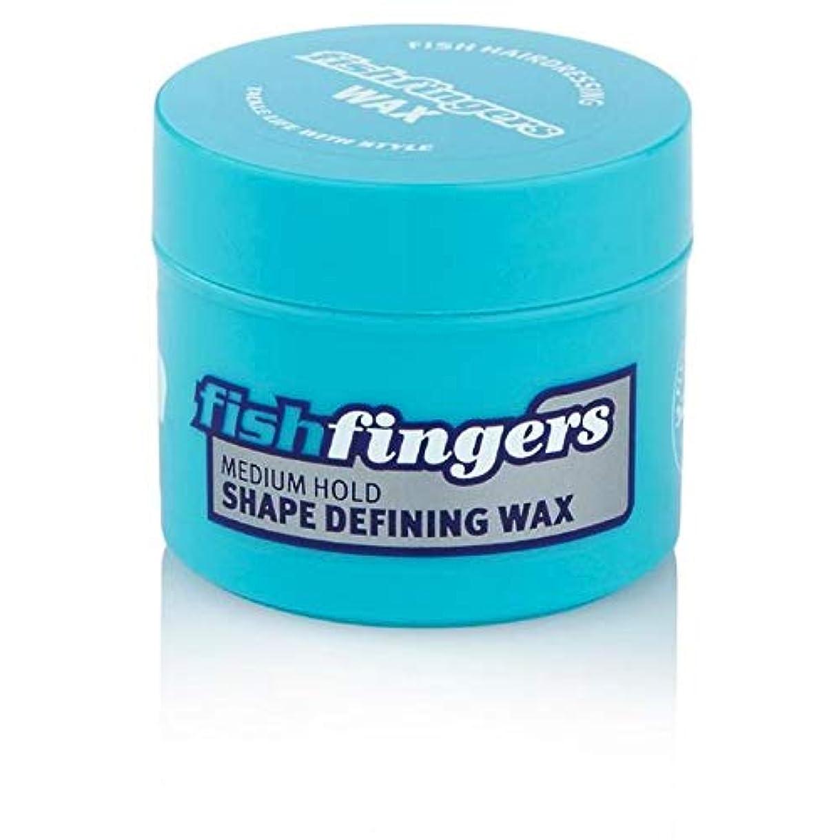 抜本的な区画賞[Fish ] 魚本来のFishfingersのヘアワックスミニ25ミリリットル - Fish Original Fishfingers Hair Wax Mini 25ml [並行輸入品]