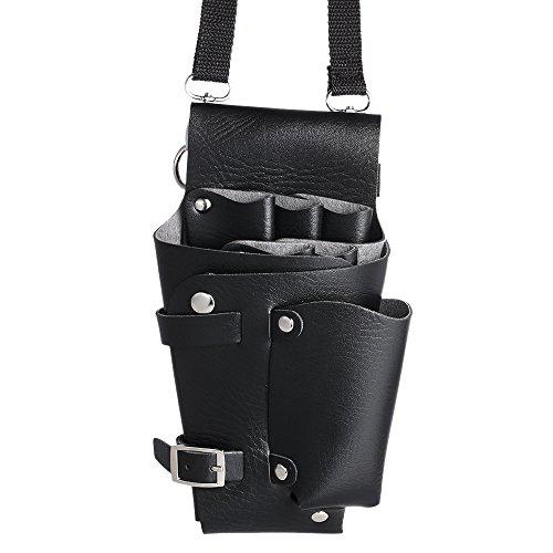 Anself - Bolsa de Cintura/Hombro de Herramientas para Peluquería Barbero con Cinturón