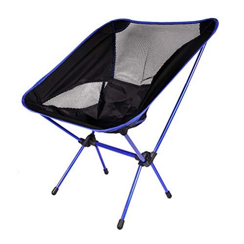 X&JJ Draagbare campingstoel, compacte klapstoelen voor het wandelen op een picknickstrand met draagtas, draagvermogen 150 kg