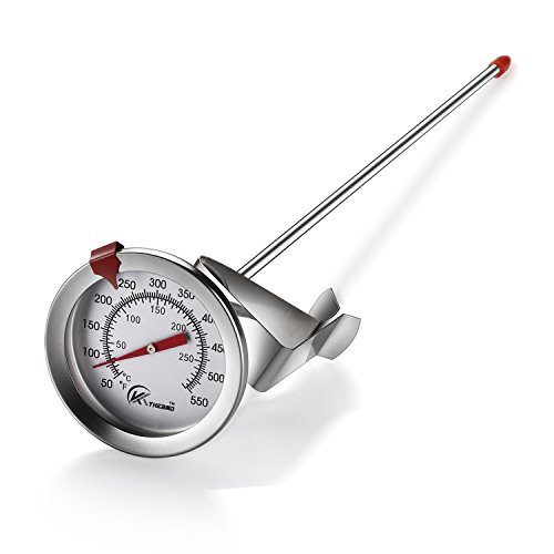 Deep Fry Thermometer With Instant Read Dial