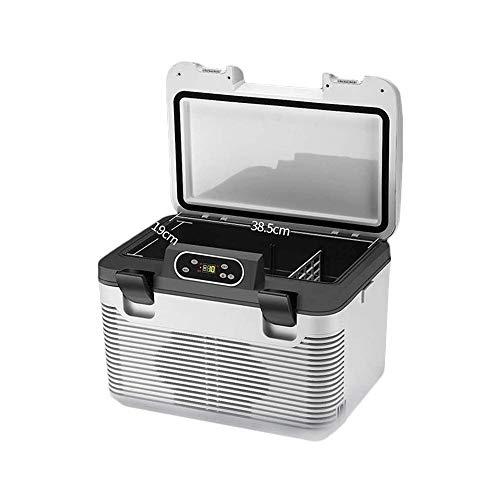 Adesign Mini Nevera, Mini refrigerador eléctrico Compacto Enfriador y Calentador del refrigerador...