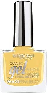 Deborah Milano Gel Effect Nail Polish, 69 Funny Yellow, 8.5ml
