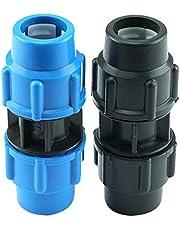 Ltong Accesorios de tubería de PE Accesorios de tubería de unión rápida de tubería de PE Junta de tubería Directa