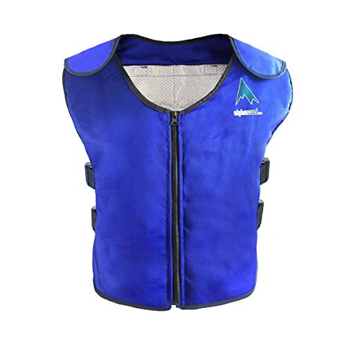 Alphacool Ice Vest for Men and Women Adjustable Cooling Vest with Ice Packs