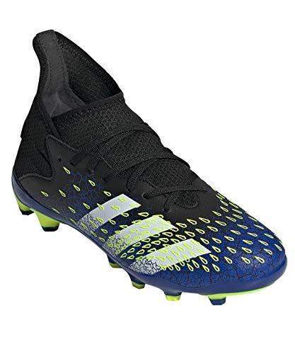 adidas Predator Freak .3 MG J, Zapatillas de fútbol, NEGBÁS/FTWBLA/Amasol, 34 EU