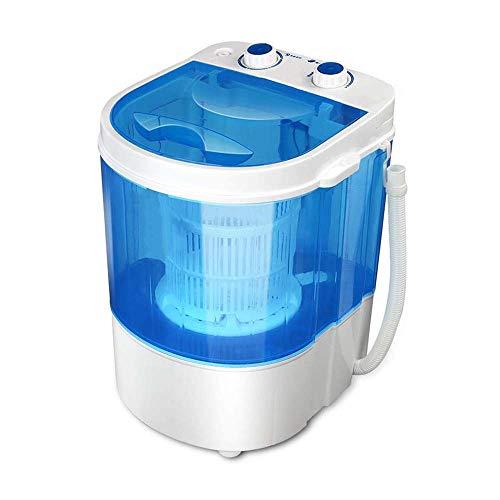 Atten Halbautomatische Waschmaschine - Tragbare Mini-Waschmaschine - Timer-Steuerung einfach zu bedienen - Rotary-Controller - for Wohnungen, Wohnmobile und Immobilien