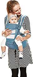 R for Rabbit Upsy Daisy Smart Hip Seat Baby Carrier for New Parents (Blue),R for Rabbit