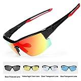 amarillo Funnyrunstore Gafas de gama alta Gafas Gafas Miop/ía Gafas de sol de conducci/ón nocturna Gafas Gafas Negro brillante
