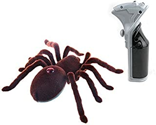 CALOVER Gift for Family Cats Dogs Remote Control Spider for Prank for Trick