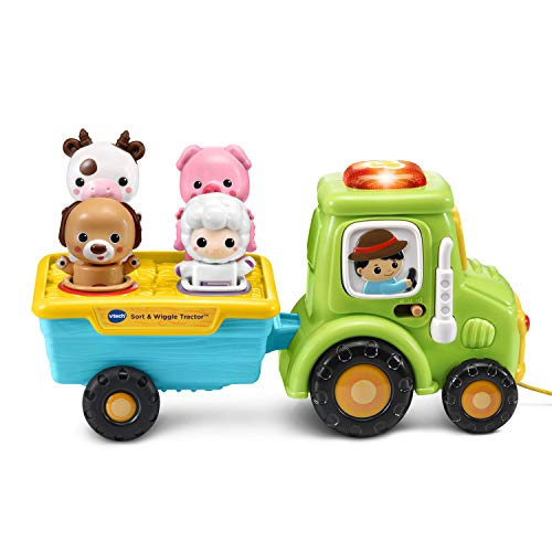 VTech Sort and Wiggle Tractor