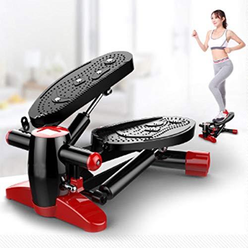 ZHAOK Ultrasport Up-Down-Stepper,Mini-Fitnessgerät, Rutschfestes, verbreitertes Pedal mit Magnetfeldtherapieeffekt,Die Wirkung von Ofenrohr Besser