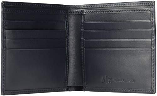 ARMANIEXCHANGE『A|Xエンボスロゴカードケース付き折りたたみ財布(958097-CC212)』