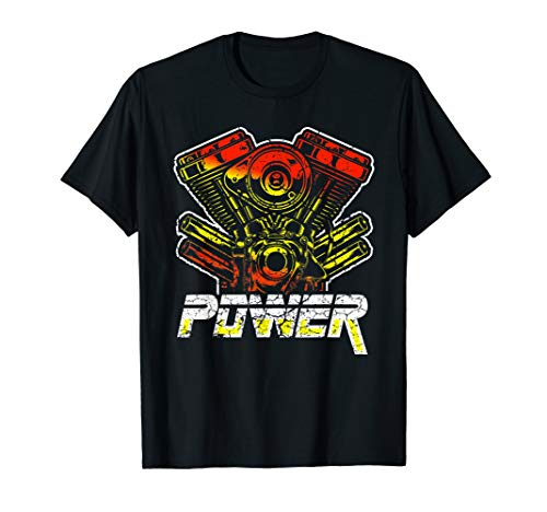 Power Tuning I Motor Show I Viertel Meile Feinstaubfilter T-Shirt
