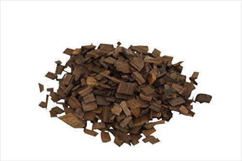 'MoonshinersChoice' Holzspäne Eiche ❀ stark geröstet ❀ 40 Gramm Echtholz-Chips ❀ Zum Aromatisieren von Spirituosen und Wein