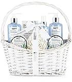 BRUBAKER Cosmetics Beauty Pflegeset - mit Lavendel & Salbei Minze Extrakten - Geschenkset im Henkelkorb (Misc.)
