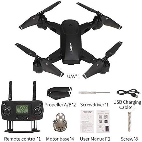 HSKB Drohne 5G WiFi FPV 1080P HD Dual-Mode-Positionierung live ubertragung Lange Flugzeit RC Drohne für Anf er (Schwarz