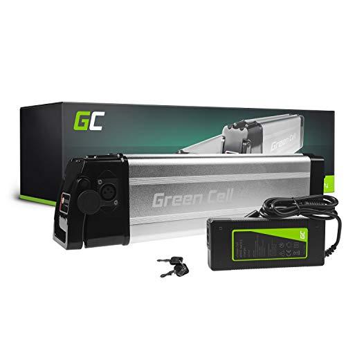 Green Cell GC Bateria Bicicleta Electrica 36V 11Ah Silverfish Li-Ion E-Bike Batería y Cargador