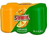 Sumol - Zumo Naranja con gas - pack 6 x 33cl
